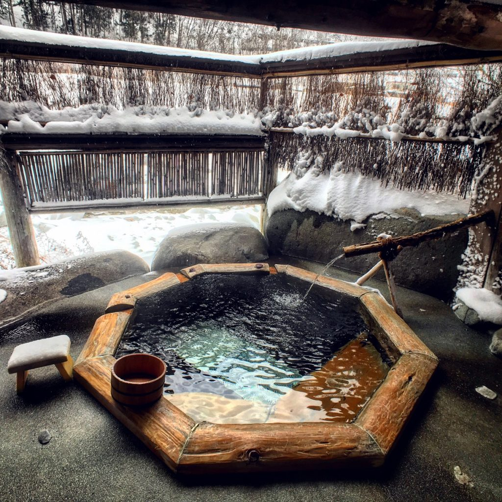 Yarimikan Onsen Private Outdoor
